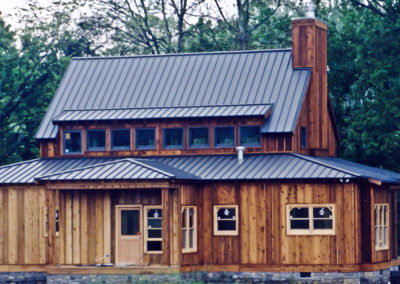 Steep Pitch Standing Seam Metal Roof