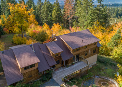 Slate Metal Roof in Hood River